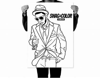 Coloring Swag Pages Concept Behance Template