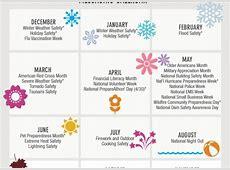 National Awareness Day Calendar 2016 Calendar Template 2018