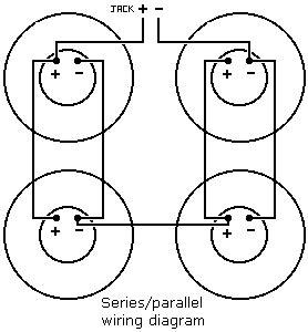 Series Parallel Speaker Wiring The