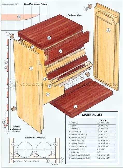 wine gift box plans woodarchivist