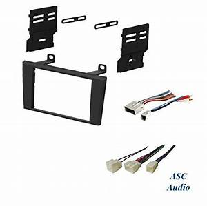 Asc Car Stereo Dash Install Kit And Wire Harness For
