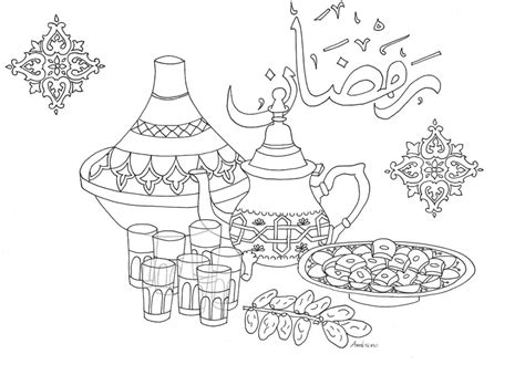 Kleurplaat Eid by 43 Eid Coloring Pages Eid Coloring Pages Coloring Home