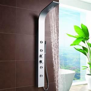 Duschpaneel Mit Massagedüsen : duschpaneel mit handbrause und massaged sen silber ~ Eleganceandgraceweddings.com Haus und Dekorationen