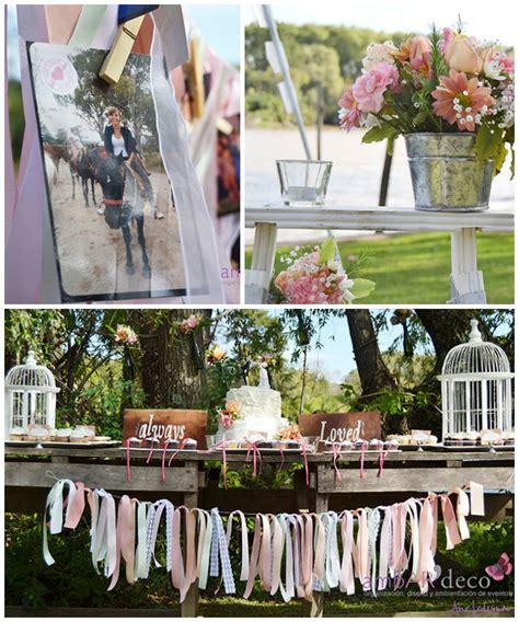 outdoor shabby chic wedding kara s party ideas shabby chic outdoor wedding