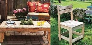 Tuto Salon De Jardin En Palette : salon de jardin en palettes 10 tutos pour le faire soi ~ Dallasstarsshop.com Idées de Décoration