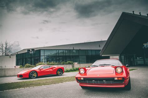 When people saw those flashy pop up lights and the dynamic red ferrari, they wanted one. car, Ferrari 488 GTB, Ferrari Testarossa, pop-up headlights | 2048x1365 Wallpaper - wallhaven.cc