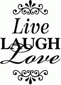 Check out our free svg files for cricut selection for the very best in unique or custom, handmade pieces from our art & collectibles shops. Live laugh love (vinyl) | Live laugh love, Silhouette ...