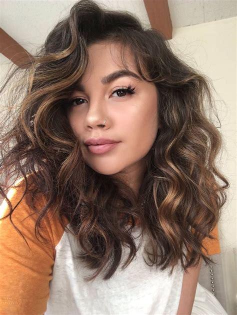 curling medium hair ideas  pinterest hair tips lauren conrad loose curls medium