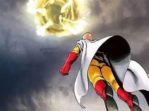 Image - Saitama punching a meteor.gif | VS Battles Wiki ...