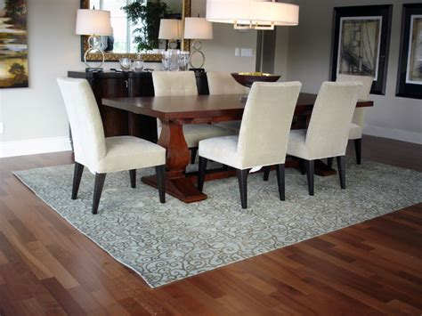 rug dining room table how to choose a rug for your dining room all world furniture