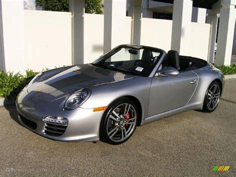 silver porsche carrera gt silver metallic 2011 porsche 911 carrera 4s cabriolet