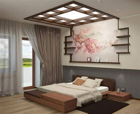 Bedroom Decorating Ideas Japanese Style by Colorful Japanese Bedroom Style With Big Mirror