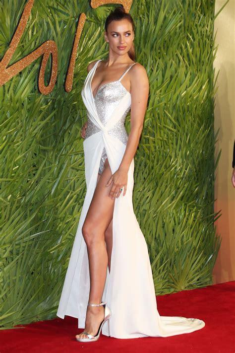 Irina Shayk - Fashion Awards 2017 in London • CelebMafia