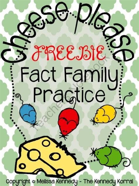 fact family freebie   kennedy korral