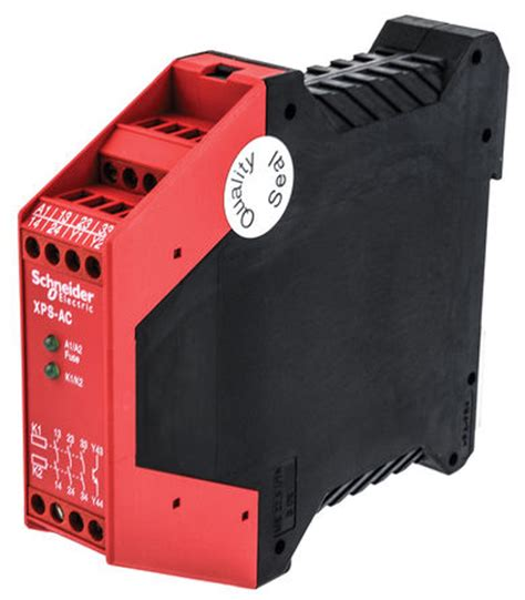 xpsac5121 preventa xps ac safety relay 24 v ac dc 3