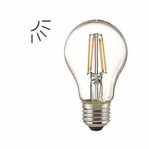 Led Tageslicht Leuchtmittel : e27 led filament leuchtmittel mit tageslicht sensor 6 5w deutsche ~ Watch28wear.com Haus und Dekorationen