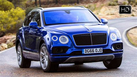 Bentley Bentayga Picture by 2017 Bentley Bentayga Diesel Sequin Blue Exterior