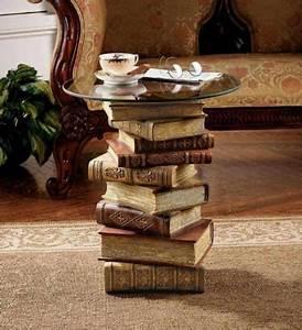 Tisch Aus Büchern : best of wiederverwertung 75 upcycling ideen die dich begeistern werden seite 2 von 4 ~ Buech-reservation.com Haus und Dekorationen