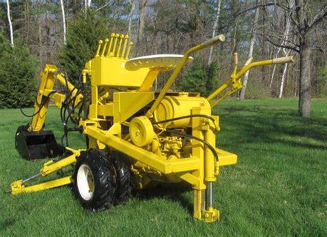 gravely terramite backhoe gravely walk  tractor