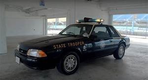 Florida Highway Patrol's Foxbody Mustang SSP Hits the Track