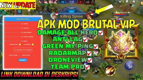 During the matches that can last up to 10 minutes, the teams are tasked to perform the traditional gameplay tactics of the moba genre mobile legends for desktop, to secure and hold the three primaries lanes of movement. APK MOD FULL HACK VIP PATCH BAXIA 1.4.14 - Mobile Legends HACK