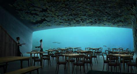 Europe's very first underwater restaurant