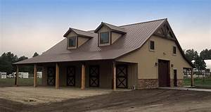 new 4 stall colorado horse barn in douglas county With 8 stall horse barn