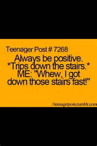Funny Teenager Post Quote