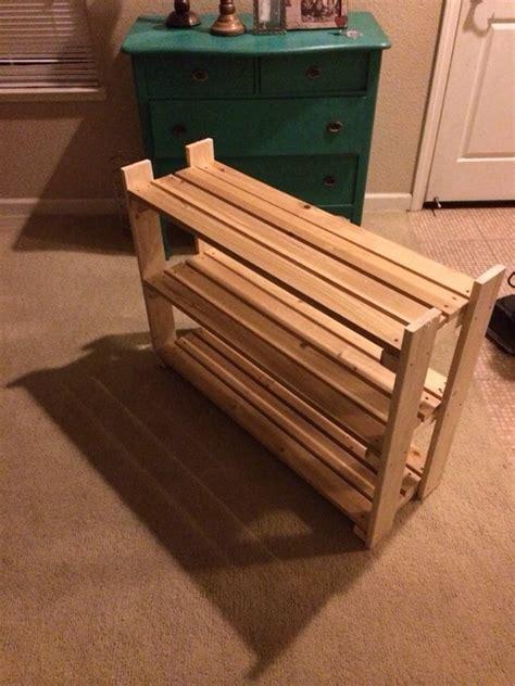 wooden shoe rack workbench plans wooden shoe racks