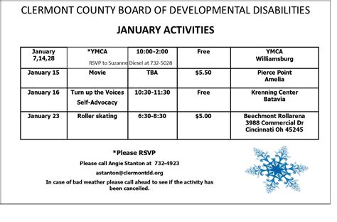 press releases clermont county board developmental disabilities