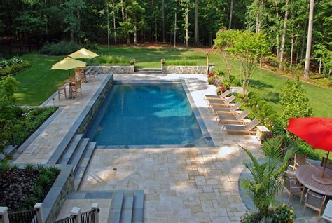 Luxury Backyard In Ashton, Maryland