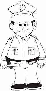 Coloring Police Policeman Printable Printing Coloring4free Sheets Chavez Cesar Colouring Worksheets Policista Officers Dolls Teen Children Paper Cars sketch template