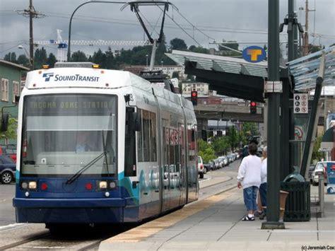 tacoma light rail link light rail tacoma dome station