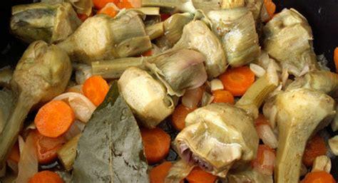 cuisiner artichaut poivrade recette barigoule d 39 artichauts poivrade du roussillon