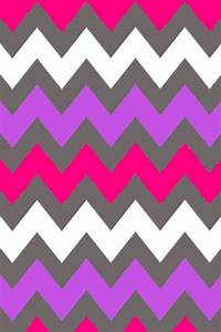 Gray, purple, pink, and white chevron wallpaper pattern ...