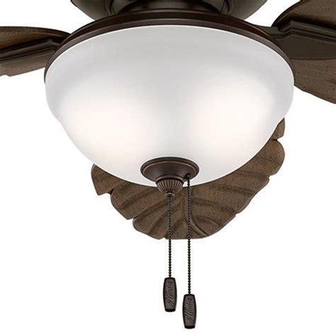 fan 52 quot outdoor ceiling fan with led light kit