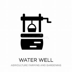 Water Well Stock Vector  Illustration Of Watering  Cartoon