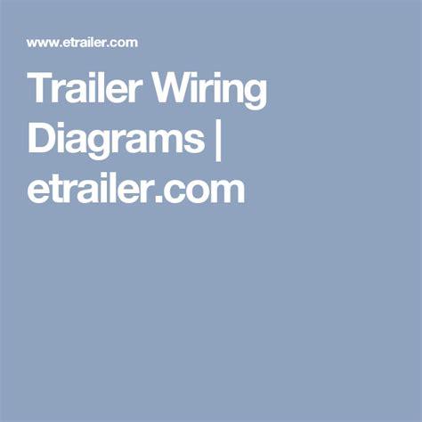 Trailer Wiring Diagrams Etrailer Boler