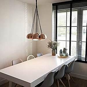 Hängelampe Wohnzimmer Modern : qazqa design modern esstisch esszimmer pendelleuchte pendellampe h ngelampe lampe ~ Indierocktalk.com Haus und Dekorationen
