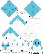 easy origami penguin i...