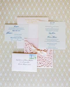 blush laser cut wedding invites laser cut wedding invitations With laser cut wedding invitations us