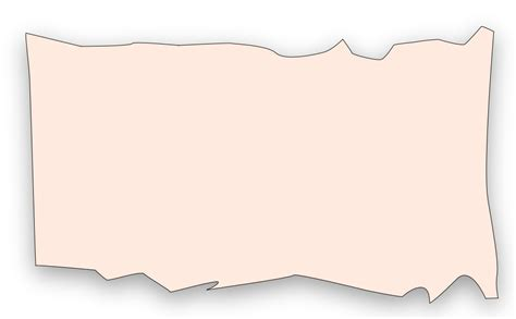 Paper Rectangle Font - Ripped Paper Png png download ...