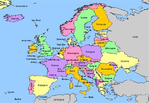 Carte Capitales Europe De L Est by Voir Carte De L Europe Tonaartsenfotografie
