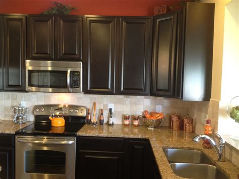 espresso kitchen cabinets with backsplash our building with ryan homes venice june 2012