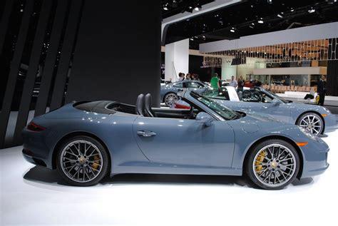 2018 Porsche 911 Carrera 4 Gts Cabriolet