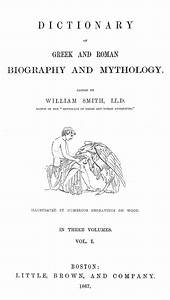 availability for work dictionary of greek and roman biography and mythology
