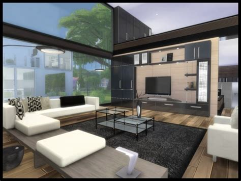 sims resource altara modern living  chemy sims