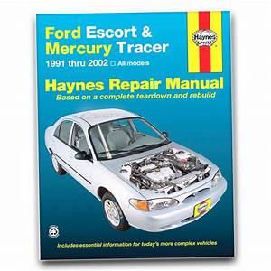 Haynes Repair Manual For 1991-2002 Ford Escort