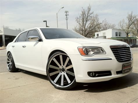 chrysler 300 with gianelle wheels no limit inc