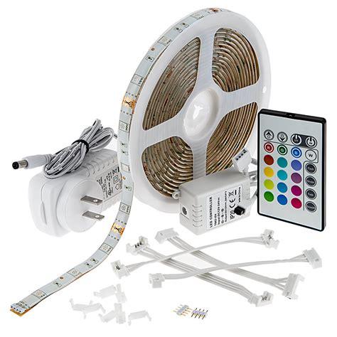 led video light kit outdoor rgb led strip light kit weatherproof 12v led